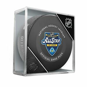 2020-NHL-All-Star-Game-Official-Hockey-Puck-in-Cube-St-Louis