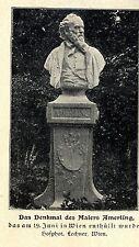 Wien * Denkmal des Malers Amerling * Bilddokument von 1902