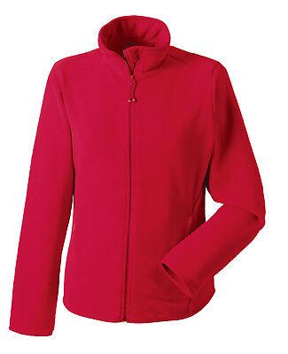 Russell Jerzees Plain NAVY Full Zip Micro Fleece Jacket