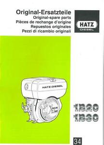 Hatz engines Rebuild manual 1b40