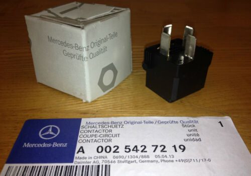 Auxiliary Fan Relay Genuine OEM Mercedes Benz Air Suspension Fuel Pump