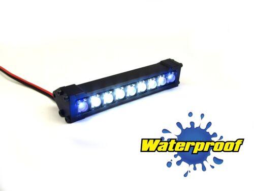 "Gear Head RC 1//10 Scale Terra Torch 3/"" LED Light Bar White and Blue GEA1358"