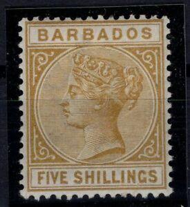 P133364-BRITISH-BARBADOS-SG-103-MINT-MH-SIGNED-CV-215