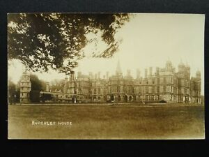 Lincolnshire-Stamford-BURGHLEY-HOUSE-Old-RP-Postcard