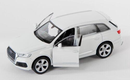 Blitz envío audi q7 blanco//White Welly modelo auto 1:34-39 nuevo embalaje original /&