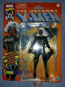 Marvel-Legends-STORM-BLACK-COSTUME-X-Men-Vintage-Wave
