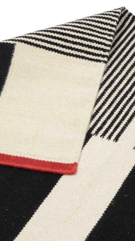 Gulvtæppe, ægte tæppe, b: 140 l: 200