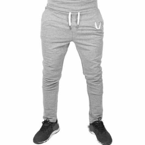 Tracksuit Fitness Gym Sweatpants Trousers Sport Men/'s Pants Long Workout Joggers
