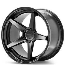 4 19x105 Ferrada Wheels Fr3 Matte Black With Gloss Black Lip Rims B3 Fits 2012 Jeep Grand Cherokee