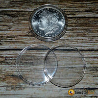 10 Direct Fit Coin Capsules For Silver Dollars