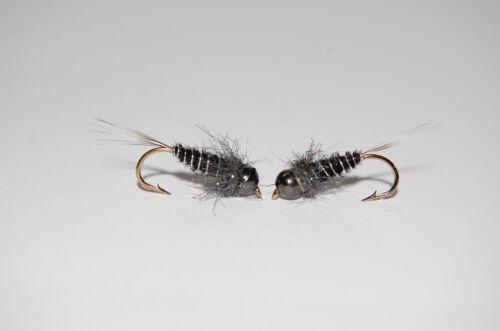 Tungsten Pheasant Tail Nymphe SISKIN Nr4