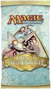 Scars-of-Mirrodin-Booster-Pack-x-1-Brand-New-From-Sealed-Box-MTG