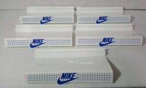 Vintage Nike Shoe Slat Wall Display Shelves RARE