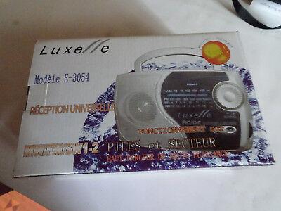 Populair Merk Radio Portable Luxe // E Sur Secteur Ou Piles Zorgvuldige Verfprocessen
