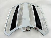 Mutazu Chrome Luggage Rack Cruiser For Victory Cross Country Road Trunk
