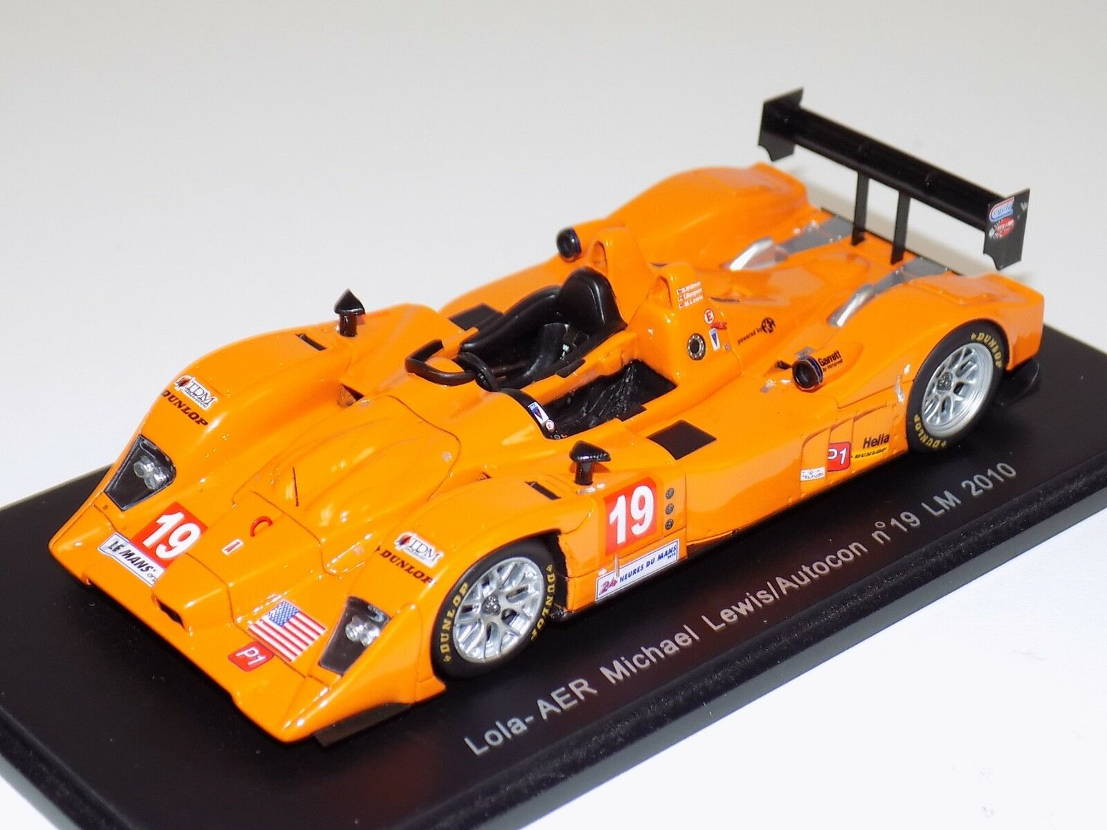 1 43 Spark Models Lola - AER car Hours of LeMans 2010 S2557