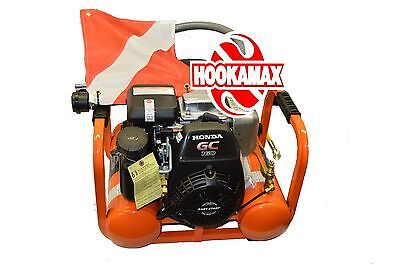 Hookamax G2005 1X100 (Gas Hookah with an extra 100 foot hose, no reg, no float)