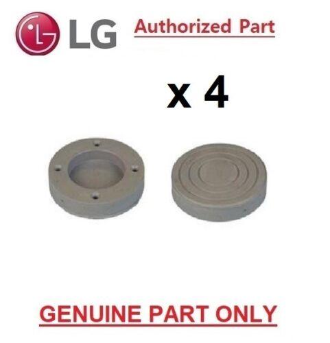 4 X GENUINE LG WASHING MACHINE WASHER DRYER ANTI VIBRATION FEET 4620ER4002B