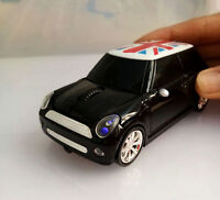 Mini Bmw Car 2.4ghz Wireless Mouse Optical Pc Laptop Mice + Usb Receiver Gift Us