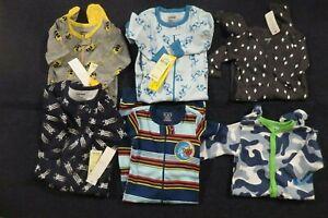 Baby-Toddler-Boys-One-Piece-Sleeper-Pajamas-3-6-mo-6-12-mo-12-18-mo-18-24-mo-NWT