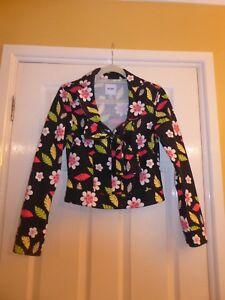 élasthanne Moschino 12 Uk Jacket Bnwot coton Donna 2 Jeans 98 qxAq8P