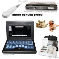 Catdogpet Vet Digital Ultrasound Scanner Laptop Machine Micro Convex Animals