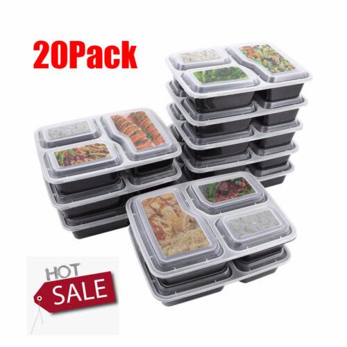 Frischhaltedosen Set Klick-It Gefrierdosen Lunchbox Mikrowelle Brotdose 20 Stück