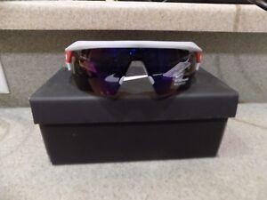 156935fbbc53 $260 Nike Hyperforce Elite Sport Sunglasses Men's Gray Red Mirrored ...