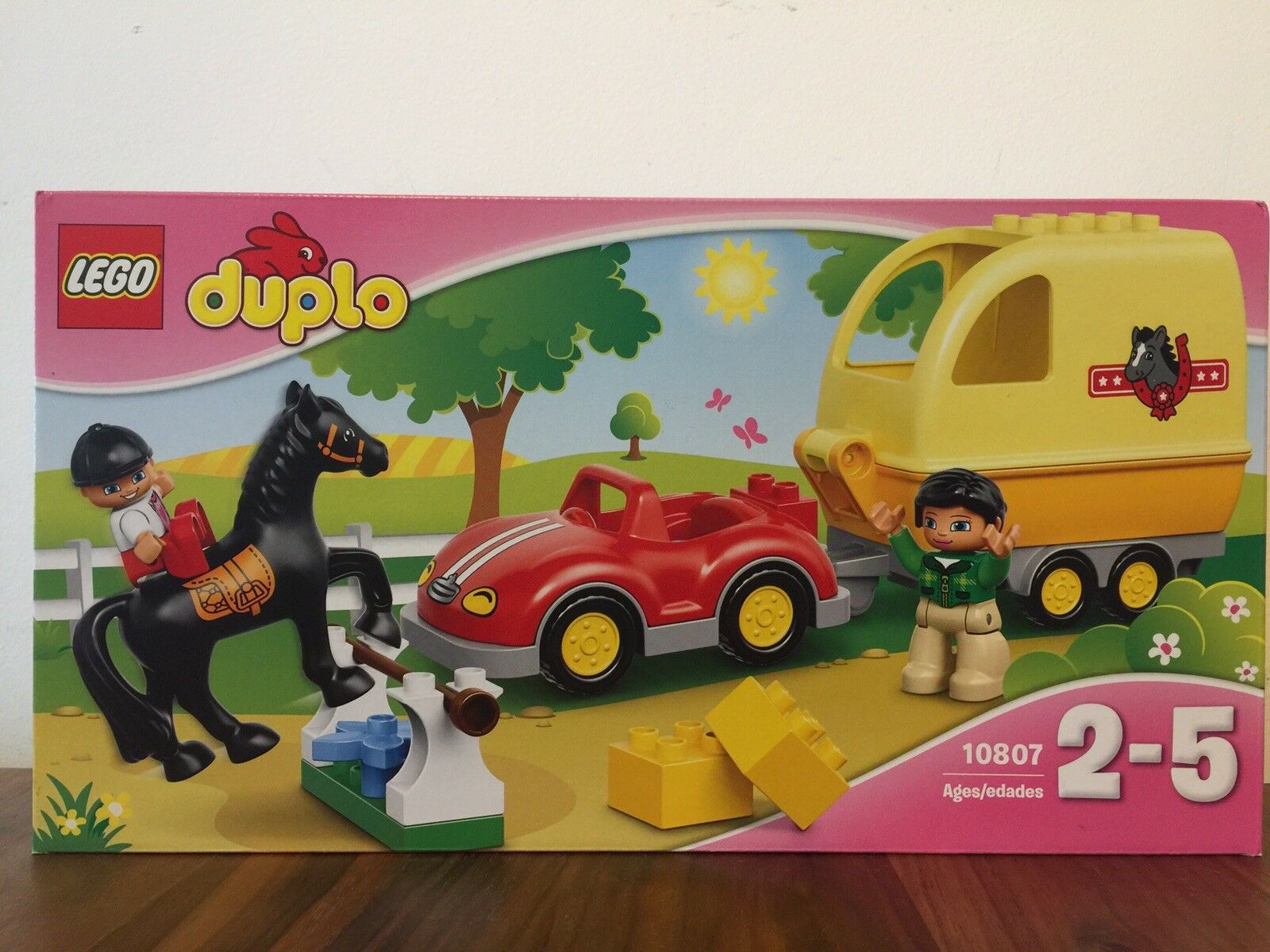 Lego Duplo Horse Trailer 10807 (New Unopened) Recommended Age 2-5y