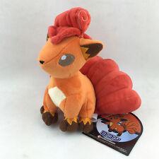 "Vulpix Pokemon Six Tails Fire Type Fox Plush Toy Stuffed Animal Soft Orange 7"""