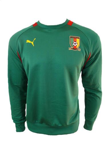 Puma Cameroun Sweat Vert Cameroun Trainingtop TAILLE L