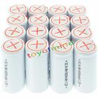 16x Sub C SubC With Tab 6000mAh 1.2V Ni-MH Rechargeable Battery White High Power