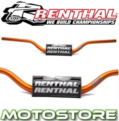 RENTHAL FATBAR HANDLEBARS ORANGE FITS KTM 690 ENDURO R 2012-2016 BAR PAD