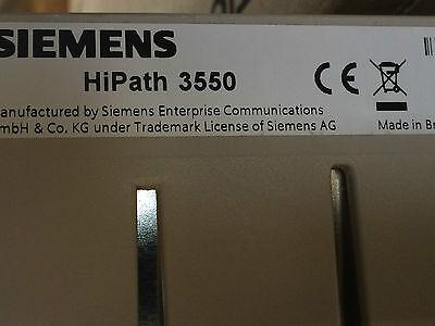 Bürotechnik Telefonanlage Siemens Hipath 3550 V9 4x Optipoint Advance Telefone AusgewäHltes Material