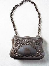 Victorian Metal Coin Purse Antique