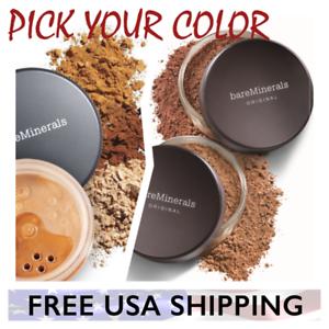PICK YOUR COLOR - BareEscentuals bareMinerals ORIGINAL or Mineral Veil XL Large