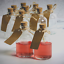 thumbnail 8 - Set of 12 Mini Glass Bottles Perfect for Wedding Favours & Decoration M&W