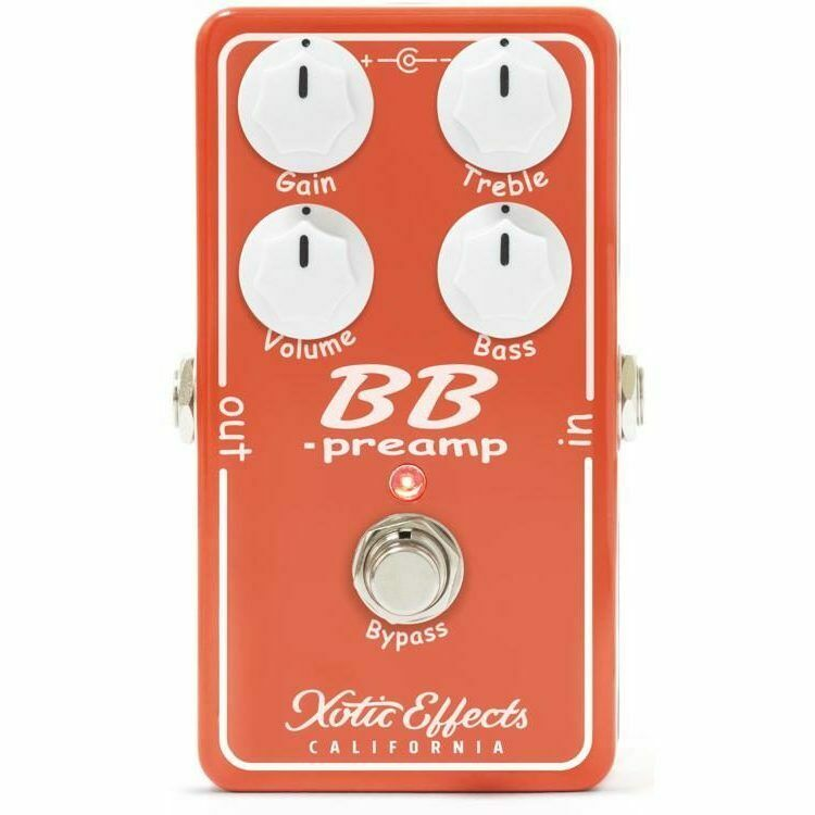 Xotic Effects BB Preamp V1.5 Overdrive Guitar Effect Pedal New