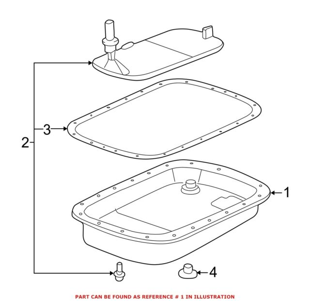 Bmw Genuine Transmission Oil Pan E39 E46 E85 For Sale Online
