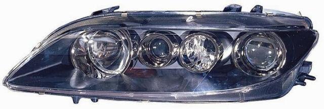 Proyector Faro Delantero Dx para Mazda 6 2005 Al 2007 sin Luz Antiniebla Negro