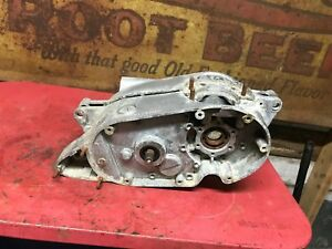 Bultaco-Matador-Model-4-Engine-Cases-Round-AHRMA-200-250-Crank-Case-Motor