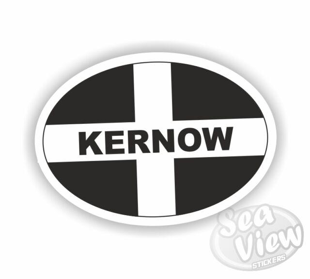 Retro Old School SPLAT /& Cornwall Cornish St Pirans Flag vinyl car sticker decal