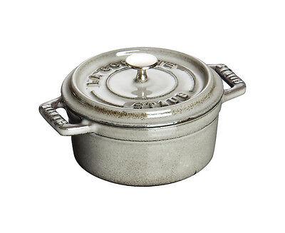 Staub Cocotte Casserole 22 cm Cherry round Pot Cooking Pot Cookware Cast Iron
