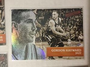 2016-17-Aficionado-Base-Set-Artist-039-s-Proof-64-Gordon-Hayward-Utah-Jazz