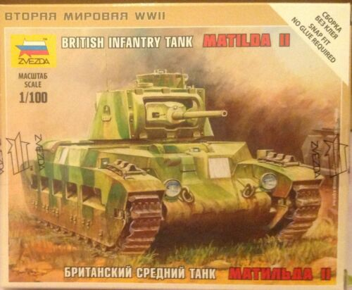 Zvezda 6171 Art of tactic Carro armato BRITISH INFANTRY TANK MATILDA II