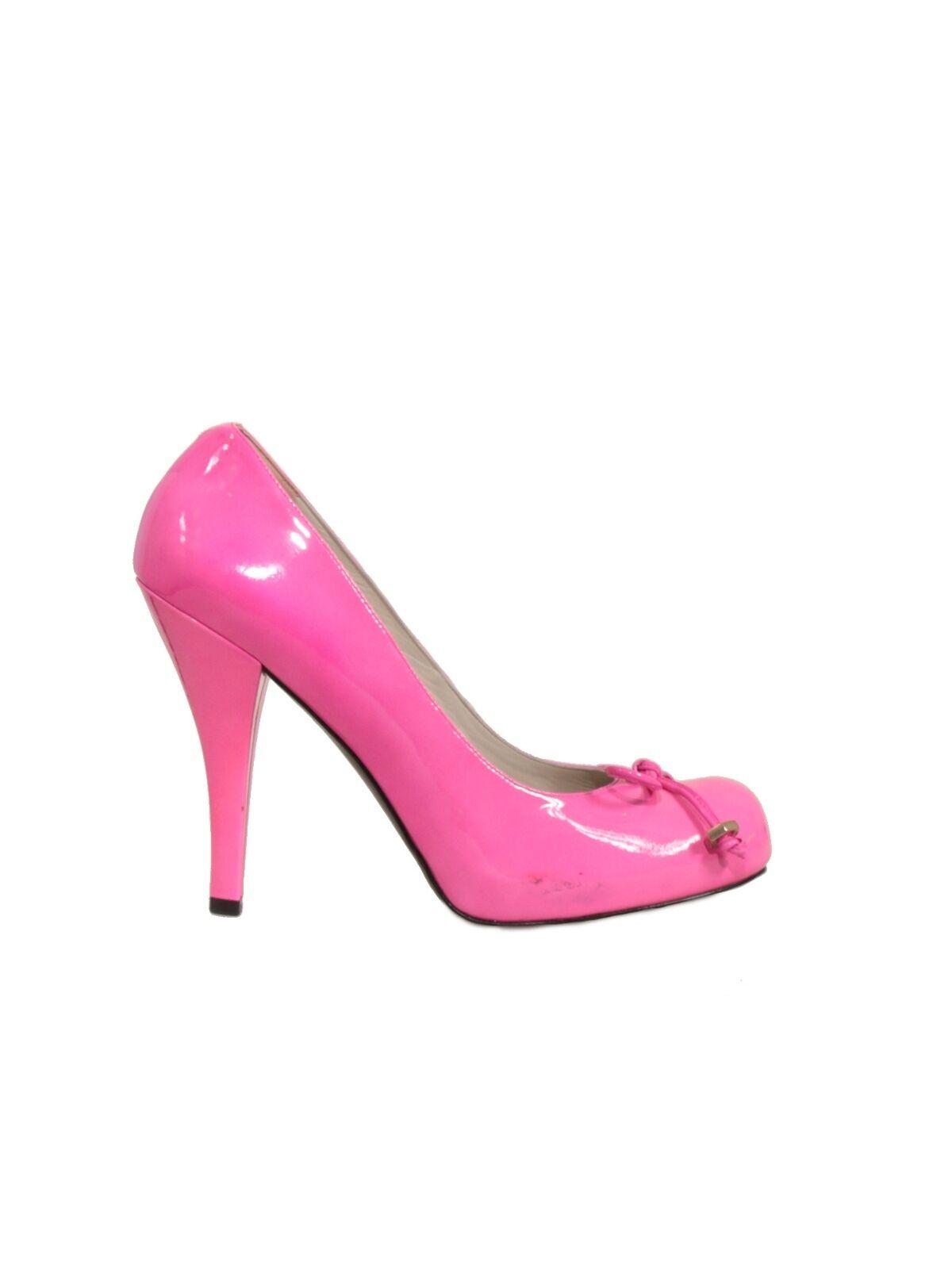 Nuevo Nuevo Nuevo  Marc By Marc Jacobs bombas de patente rosado (Tamaño 40)  mas preferencial