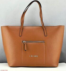 33cb4cc8ad91 Image is loading New-Stylish-100-Original-Handbag-GUESS-Satchel-Tote-