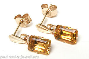 9ct-Gold-Citrine-Drop-Earrings-Gift-Boxed-Made-in-UK