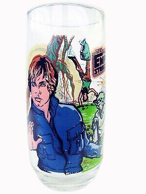 Empire Strikes Back Luke Skywalker  Star Wars Burger King Glass 1980 MINT