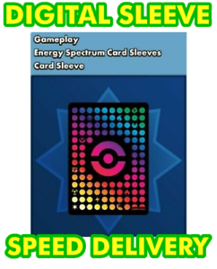 for Pokemon TCG Online Energy Spectrum Card Sleeves DIGITAL ptcgo in Game